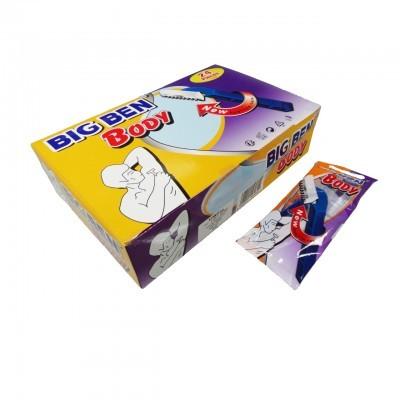 Lâmina Depilação Descartável BIG BEN - Body (Caixa de 24 Un.)