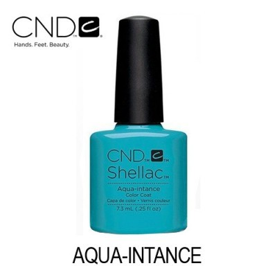 CND Shellac – Aqua-intance (Azul Claro Cremoso)