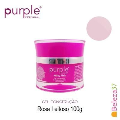 Gel Construtor Purple Milky Pink – Rosa Leitoso 100g
