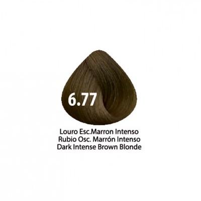 Tinta Violet Keratin Trendy 6.77 - 100ml - LOURO  ESCURO MARRON INTENSO