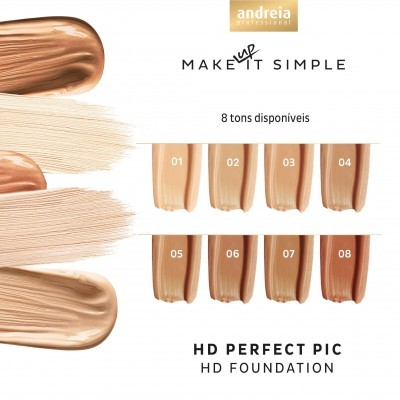 Andreia Face 4 - HD PERFECT PIC / HD Foundation