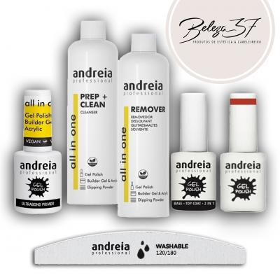 Kit Pro Iniciação de Verniz Gel Andreia