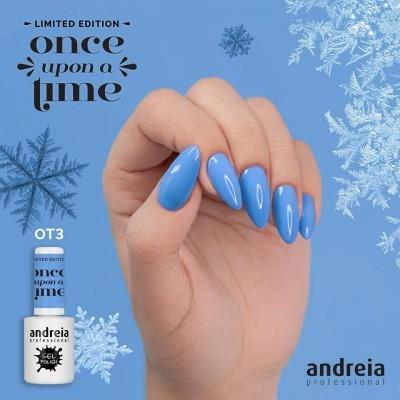 Verniz Gel Andreia OT3 – Rainha da Neve: Azul Gelo