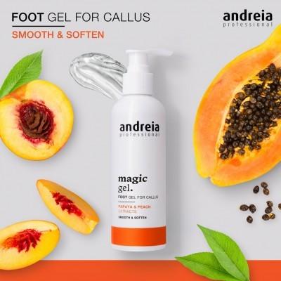 Magic Gel Andreia - Gel de pés para calosidades 200ml