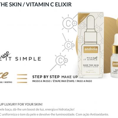 Andreia Face 0 - SAVE THE SKIN - Vitamin C Elixir