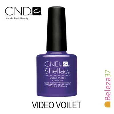 CND Shellac – Video Voilet
