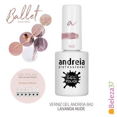 Verniz Gel Andreia Ba2 – Lavanda Nude