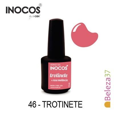 Verniz Gel Inocos 46 — Trotinete (Rosa Melancia)