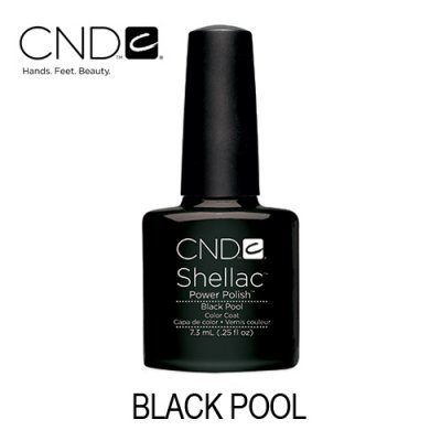 CND Shellac – Black Pool (Preto)