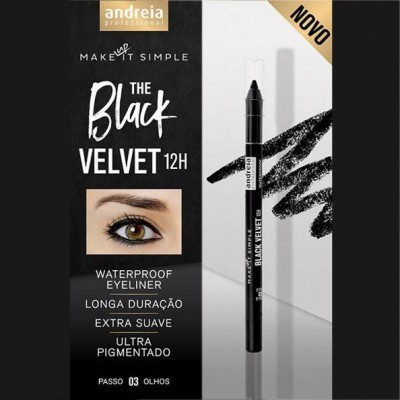 Andreia Eyes 3 - BLACK VELVET 12H - Waterproof Eyeliner