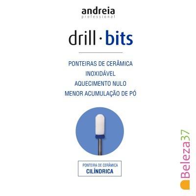Broca / Ponteira de Cerâmica Andreia - Cilindrica