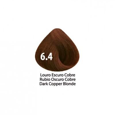 Tinta Violet Keratin Trendy 6.4 - 100ml - LOURO ESCURO COBRE