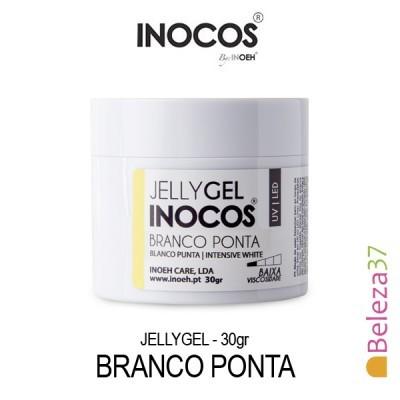Jellygel Inocos - Gel Construção Branco Ponta 30g