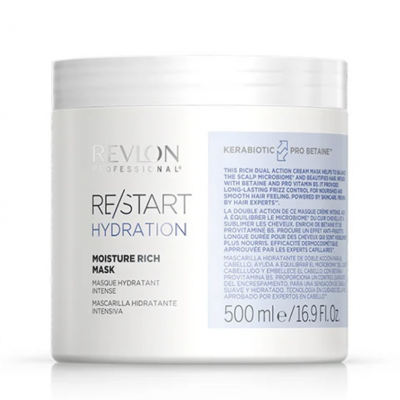 Revlon Restart Hydration Rich Mask 500ml