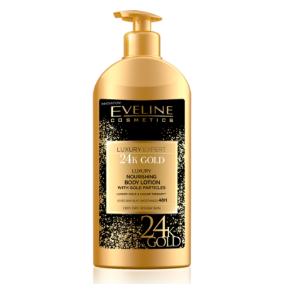 Loção Corporal Eveline Luxury Expert 24K Gold 350ml