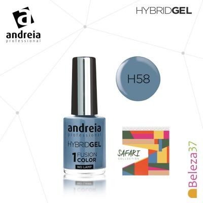 Hybrid Gel Andreia – Fusion Color H58 (Azul)