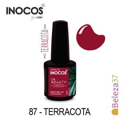 Verniz Gel Inocos 87 — Terracota