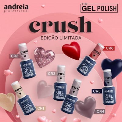 The Gel Polish Andreia - Crush Collection (Edição Limitada)