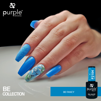 Verniz Gel PURPLE P2104 – Be Fancy