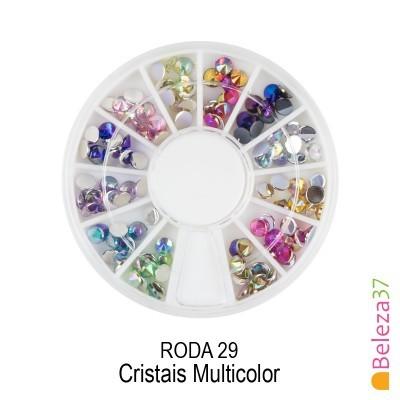 RODA 29 – Cristais Multicolor