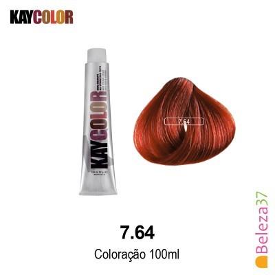 KayColor Coloração 100ml - Cor 7.64