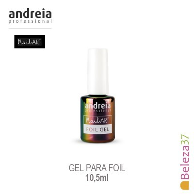 Foil Gel Andreia para Nail Art 10,5ml
