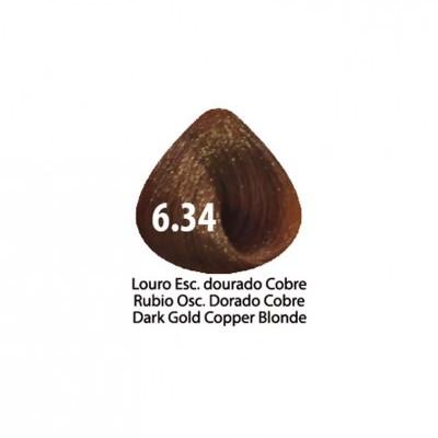 Tinta Violet Keratin Trendy 6.34 - 100ml - LOURO ESCURO DOURADO COBRE