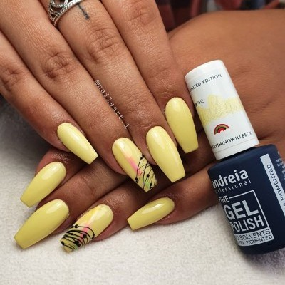 The Gel Polish Andreia FR4 - Amarelo
