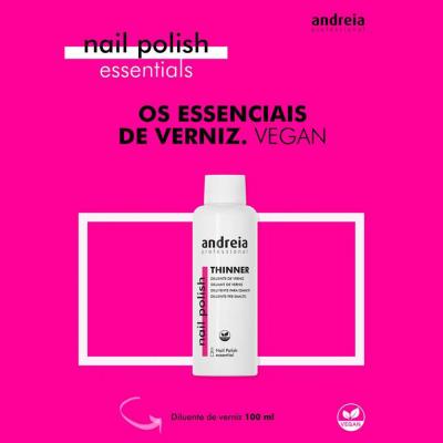 Diluente de Verniz Andreia Essential 100ml