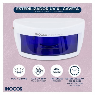 Esterilizador UV XL Gaveta Inocos