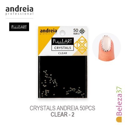 Crystals Andreia 50pcs - Clear 2
