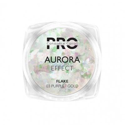 Pigmento Aurora Flake Constance Carroll - Purple/Gold 03