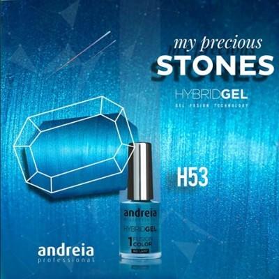 Hybrid Gel Andreia – Fusion Color H53