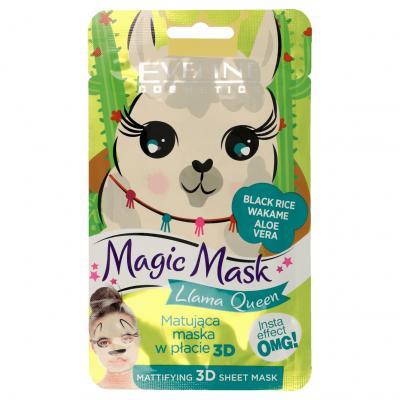 Máscara Mágica Llama Queen