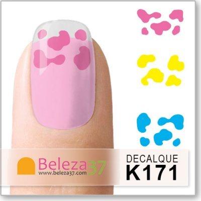 Decalques das Manchas Coloridas (K171)