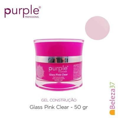 Gel Construtor Purple Glass Pink Clear – Rosa Transparente 50g