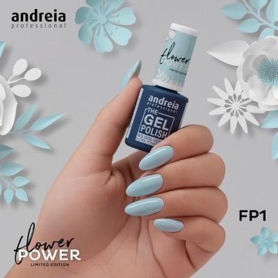 The Gel Polish Andreia FP1 - Azul Hortência Acinzentado