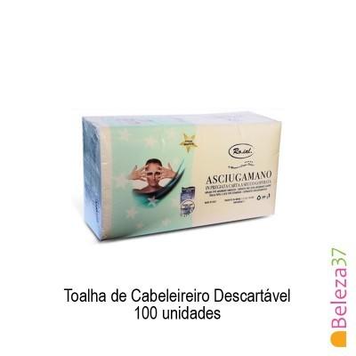 Toalha de Cabeleireiro Descartável 40x80cm –100 unidades