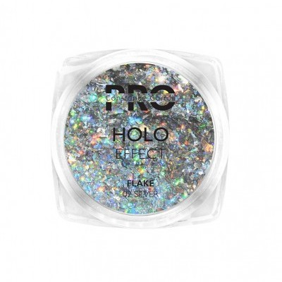 Pigmento Holographic Flake Constance Carroll - Silver 02