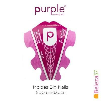 Moldes Big Nails Purple - 500 unidades