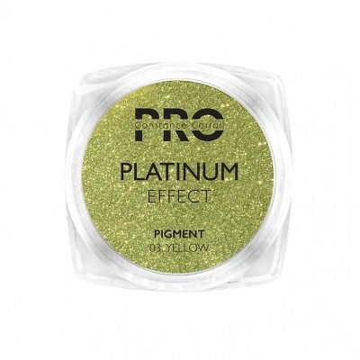 Pigmento Platinum Constance Carroll - Yellow 03