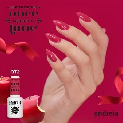 Verniz Gel Andreia OT2 – Branca de Neve: Maçã Vermelha