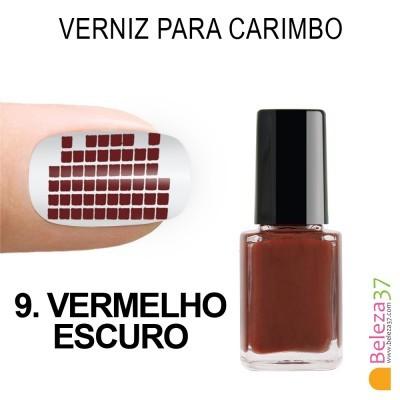 Verniz para Carimbo - 9. VERMELHO ESCURO