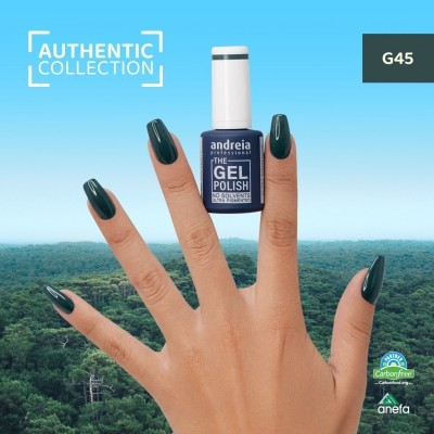 The Gel Polish Andreia G45 – Forest Green