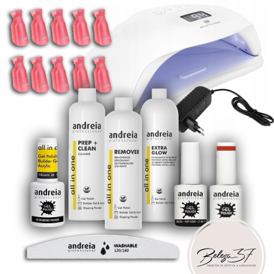Super Kit de Verniz Gel Andreia com Catalisador