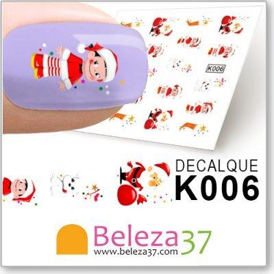 Decalques com Motivos de Natal (K006)