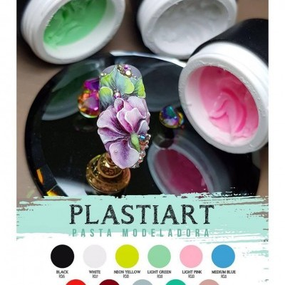 Plastiart - Pasta Modeladora Purple