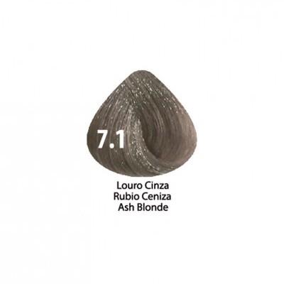 Tinta Violet Keratin Trendy 7.1 - 100ml - LOURO  CINZA