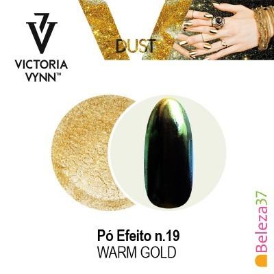 Pó Efeito Victoria Vynn n.19 Warm Gold (Ouro Quente)