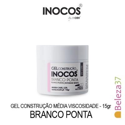 Gel Construção Inocos Média Viscosidade - Branco Ponta 15g